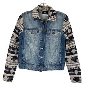 UO BDG x The Reformation Tribal Denim Jacket S